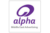 alpha advertising logo
